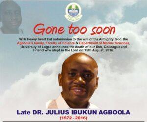 Obituary Julius small